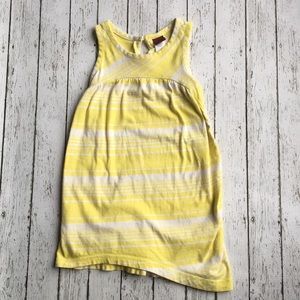 Tea Collection Yellow Striped Dress